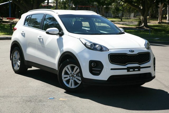 Used Kia Sportage QL MY18 Si 2WD, 2017 Kia Sportage QL MY18 Si 2WD White 6 Speed Sports Automatic Wagon