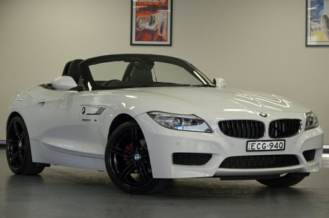 Used BMW Z4 E89 LCI sDrive20i, 2016 BMW Z4 E89 LCI sDrive20i White 6 Speed Manual Roadster
