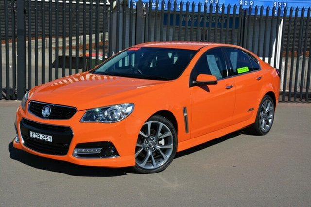 Used Holden Commodore VF MY14 SS V, 2013 Holden Commodore VF MY14 SS V Orange 6 Speed Sports Automatic Sedan