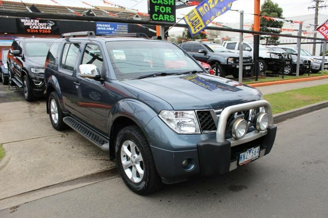 Used Nissan Pathfinder R51 MY07 TI (4x4), 2008 Nissan Pathfinder R51 MY07 TI (4x4) Grey 5 Speed Automatic Wagon
