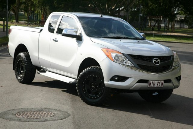 Used Mazda BT-50 UP0YF1 XTR Freestyle, 2014 Mazda BT-50 UP0YF1 XTR Freestyle Silver 6 Speed Sports Automatic Utility