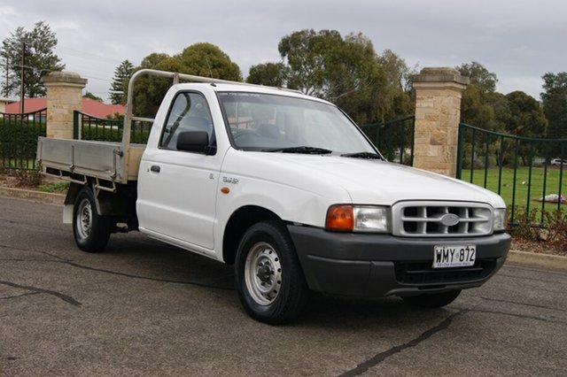Used Ford Courier PE GL, 2000 Ford Courier PE GL 5 Speed Manual Cab Chassis