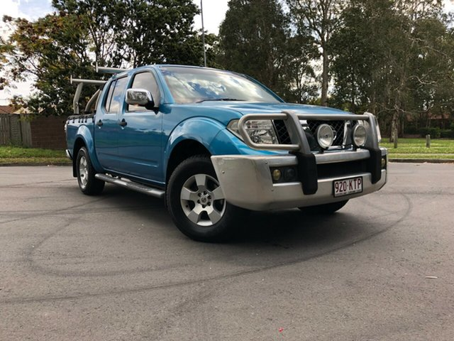 Used Nissan Navara D40 ST-X, 2008 Nissan Navara D40 ST-X Blue 6 Speed Manual Utility