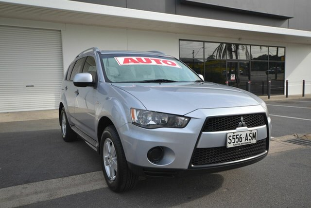 Used Mitsubishi Outlander ZH MY10 LS, 2010 Mitsubishi Outlander ZH MY10 LS Silver 6 Speed CVT Auto Sequential Wagon