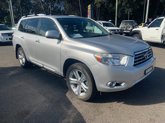 Used Toyota Kluger  , 2007 Toyota Kluger MY06 GRANDE 7 S AWD 3.3 Silver 5 Speed Automatic Wagon