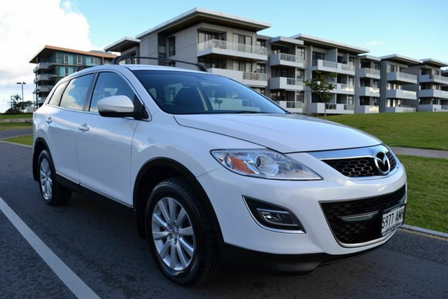 Used Mazda CX-9 TB10A3 MY10 Classic, 2009 Mazda CX-9 TB10A3 MY10 Classic White 6 Speed Sports Automatic Wagon