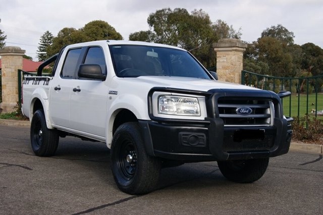 Used Ford Ranger PJ 07 Upgrade XL (4x2), 2008 Ford Ranger PJ 07 Upgrade XL (4x2) White 5 Speed Manual Dual Cab Pick-up