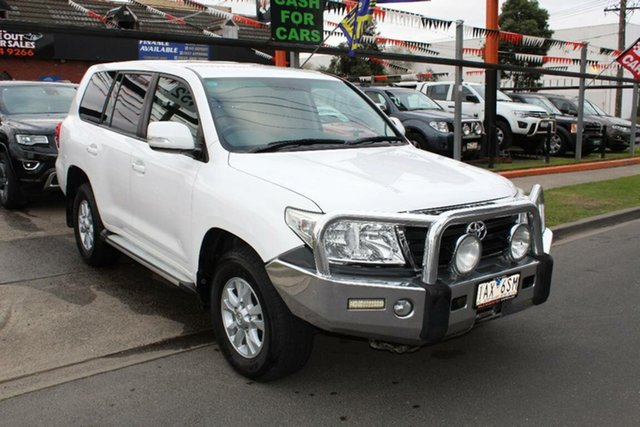 Used Toyota Landcruiser VDJ200R MY13 GXL (4x4), 2014 Toyota Landcruiser VDJ200R MY13 GXL (4x4) White 6 Speed Automatic Wagon