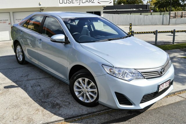 Used Toyota Camry ASV50R Altise, 2013 Toyota Camry ASV50R Altise Blue 6 Speed Sports Automatic Sedan