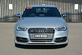 2013 Audi S3 8V MY14 Sportback S Tronic Quattro Silver 6 Speed Sports Automatic Dual Clutch.