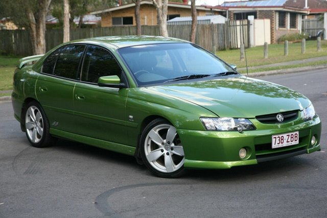Used Holden Commodore VY SS, 2002 Holden Commodore VY SS Green 6 Speed Manual Sedan