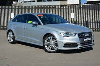 2013 Audi S3 8V MY14 Sportback S Tronic Quattro Silver 6 Speed Sports Automatic Dual Clutch