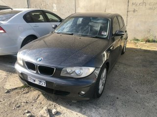 2004 BMW 120i E87 Grey 6 Speed Automatic Hatchback.