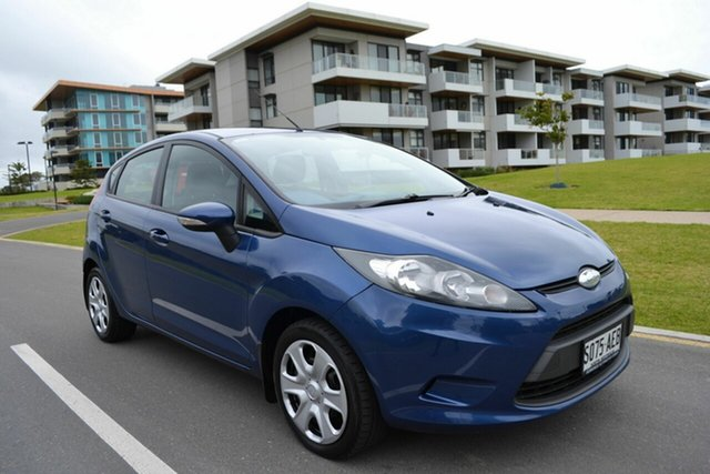 Used Ford Fiesta WS CL, 2009 Ford Fiesta WS CL Blue 4 Speed Automatic Hatchback