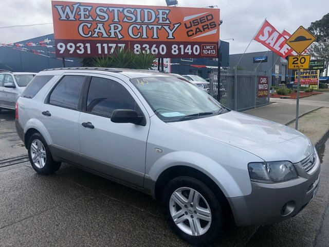 Used Ford Territory SY TX (4x4) Hoppers Crossing, 2008 Ford Territory SY TX (4x4) Silver 6 Speed Auto Seq Sportshift Wagon