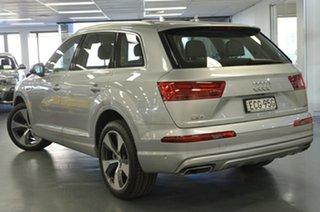 2016 Audi Q7 4M MY16 TDI Tiptronic Quattro Silver 8 Speed Sports Automatic Wagon.