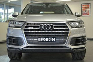 2016 Audi Q7 4M MY16 TDI Tiptronic Quattro Silver 8 Speed Sports Automatic Wagon