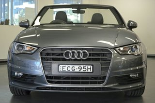 2016 Audi A3 8V MY16 Ambition S Tronic Grey 7 Speed Sports Automatic Dual Clutch Cabriolet