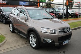 2013 Holden Captiva CG MY13 7 LX (4x4) Brown 6 Speed Automatic Wagon.