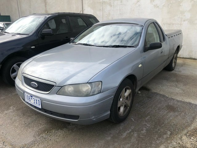 Used Ford Falcon BA XLS, 2003 Ford Falcon BA XLS Grey 4 Speed Auto Seq Sportshift Utility