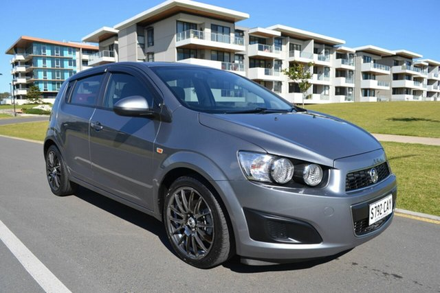 Used Holden Barina TM MY13 CD, 2012 Holden Barina TM MY13 CD Grey 5 Speed Manual Hatchback