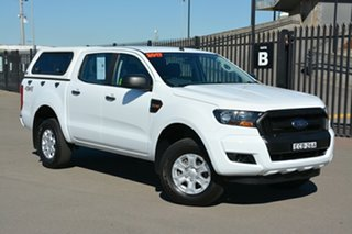 2017 Ford Ranger PX MkII XL Double Cab White 6 Speed Sports Automatic Utility
