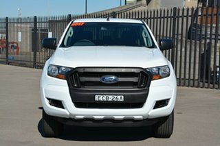 2017 Ford Ranger PX MkII XL Double Cab White 6 Speed Sports Automatic Utility.