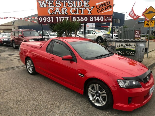 Used Holden Commodore VE MY09.5 SV6, 2009 Holden Commodore VE MY09.5 SV6 Red 5 Speed Automatic Utility