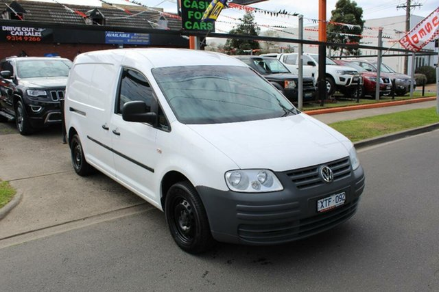 Used Volkswagen Caddy 2K MY09 Maxi Life, 2010 Volkswagen Caddy 2K MY09 Maxi Life White 5 Speed Manual Wagon