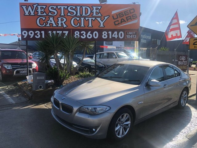 Used BMW 520d F10 MY11 , 2011 BMW 520d F10 MY11 Silver 8 Speed Automatic Sedan