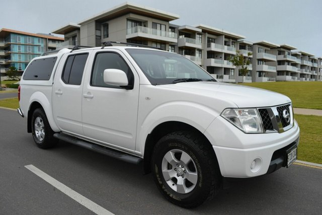 Used Nissan Navara D40 MY11 ST, 2011 Nissan Navara D40 MY11 ST White 6 Speed Manual Utility