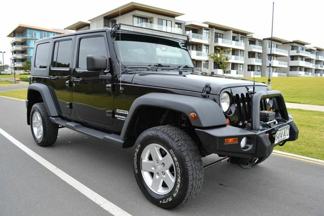 Used Jeep Wrangler JK MY2010 Unlimited Sport, 2010 Jeep Wrangler JK MY2010 Unlimited Sport Black 6 Speed Manual Softtop