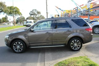2011 Ford Territory SZ Titanium (4x4) Brown 6 Speed Automatic Wagon