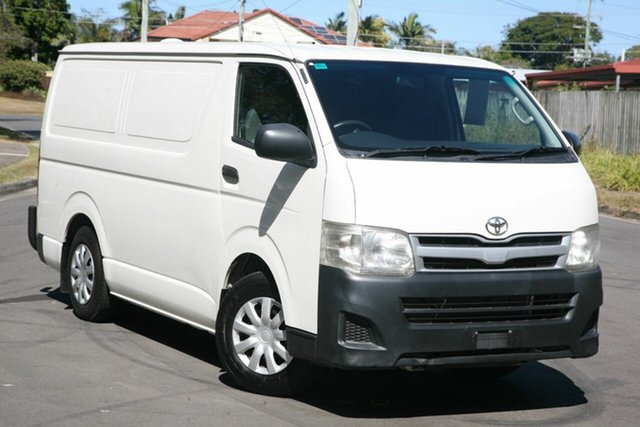 Used Toyota HiAce KDH201R MY10 LWB, 2010 Toyota HiAce KDH201R MY10 LWB White 5 Speed Manual Van