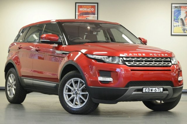 Used Land Rover Range Rover Evoque L538 MY12 TD4 Pure, 2012 Land Rover Range Rover Evoque L538 MY12 TD4 Pure Firenze Red 6 Speed Manual Wagon