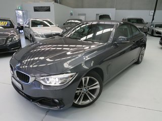 2013 BMW 420d F32 Sport Line Mineral Grey 8 Speed Automatic Coupe.