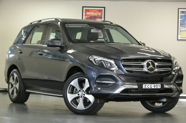 Used Mercedes-Benz GLE350 W166 807MY d 9G-Tronic 4MATIC, 2016 Mercedes-Benz GLE350 W166 807MY d 9G-Tronic 4MATIC Selenite Grey 9 Speed Sports Automatic Wagon