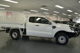2016 Ford Ranger PX MkII XL Super Cab White 6 Speed Manual Cab Chassis.