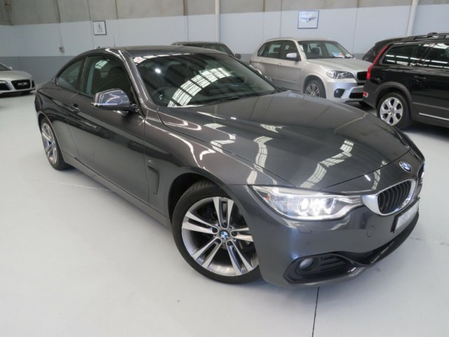 Used BMW 420d F32 Sport Line, 2013 BMW 420d F32 Sport Line Mineral Grey 8 Speed Automatic Coupe