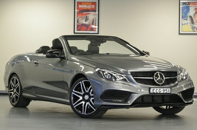 Used Mercedes-Benz E250 A207 807MY 7G-Tronic +, 2016 Mercedes-Benz E250 A207 807MY 7G-Tronic + Selenite Grey 7 Speed Sports Automatic Cabriolet