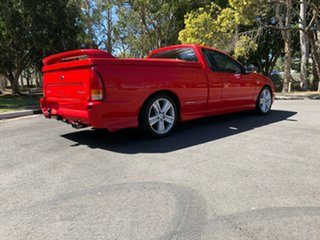 2007 Ford Falcon BF Mk II XR6 Ute Super Cab Red 4 Speed Sports Automatic Utility