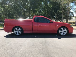 2007 Ford Falcon BF Mk II XR6 Ute Super Cab Red 4 Speed Sports Automatic Utility.