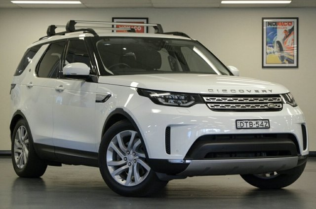 Used Land Rover Discovery Series 5 L462 MY18 TD6 HSE, 2017 Land Rover Discovery Series 5 L462 MY18 TD6 HSE Fuji White 8 Speed Sports Automatic Wagon