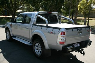 2010 Ford Ranger PK XLT Crew Cab Silver 5 Speed Manual Utility.