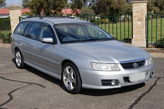 2005 Holden Berlina VZ Silver 4 Speed Automatic Wagon.