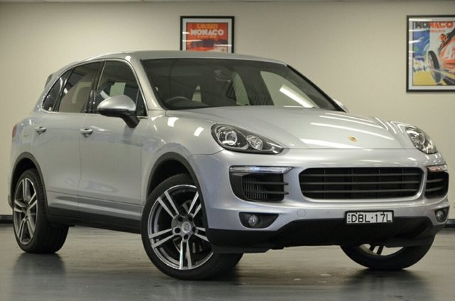 Used Porsche Cayenne 92A MY15 Diesel Tiptronic, 2015 Porsche Cayenne 92A MY15 Diesel Tiptronic Silver 8 Speed Sports Automatic Wagon