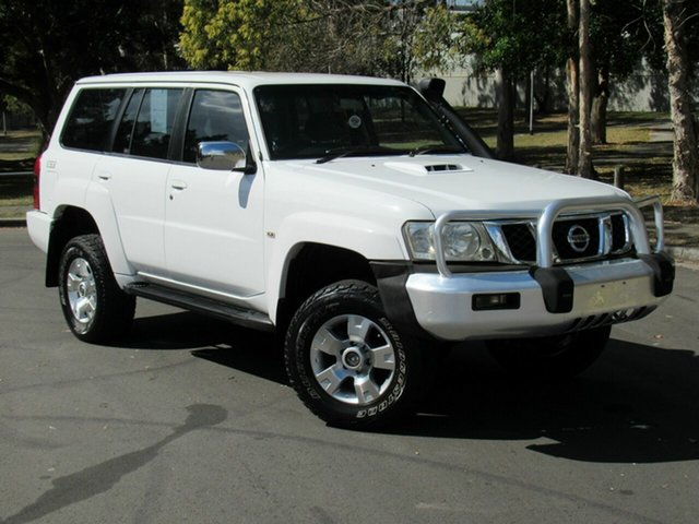 Used Nissan Patrol GU 5 MY07 ST, 2007 Nissan Patrol GU 5 MY07 ST White 4 Speed Automatic Wagon