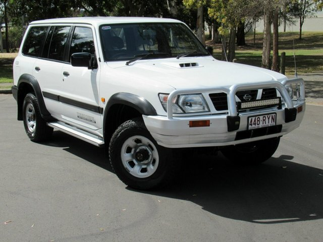 Used Nissan Patrol GU ST, 1998 Nissan Patrol GU ST White 5 Speed Manual Wagon