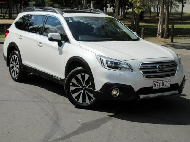 Used Subaru Outback B6A MY17 2.5i CVT AWD Premium, 2016 Subaru Outback B6A MY17 2.5i CVT AWD Premium White 6 Speed Constant Variable Wagon