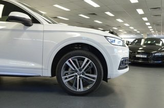 2017 Audi Q5 FY MY17 TFSI S Tronic Quattro Ultra Sport White 7 Speed Sports Automatic Dual Clutch